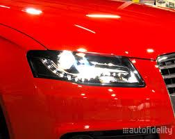 audi headlights bi xenon headlight retrofit upgrade from halogen to bi xenon