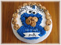 cookie monster birthday cakes decor gallery picture cake design