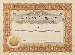 marriage certificate commemorative marriage certificate designs
