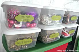 storage bins ornament storage containers plastic bins