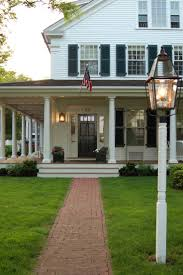 Front Porches On Colonial Homes by 171 Best Hooked On Houses Images On Pinterest Beautiful Homes