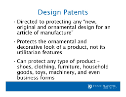 new for design patents and a look at the real impact of re