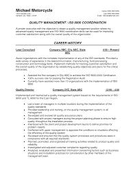 specimen resume quality assurance sample gse bookbinder co
