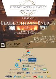 gunster lila jaber host 2017 women in energy leadership forum in