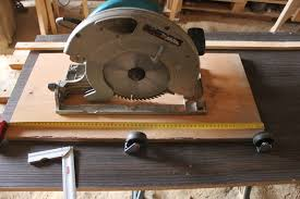convert circular saw to table saw converting circular saw the green lever using minimal resources