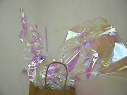 mylar gift wrap 10 iridescent gift wrap cello sheets pearlized opal mylar sheets