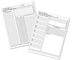30 day challenge group planner kit to insanity u0026 back