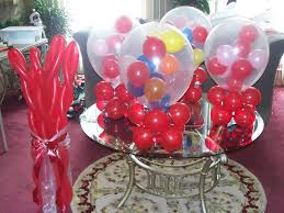 balloon centerpiece ideas candyland themes balloon centerpieces vine twists and gum