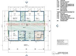 home plans barn living quarters with horse and steel buildings