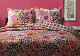 Pink Camouflage Bedding Brown Red Pink Circle Geometric Floral Bedding Teen Twin Xl