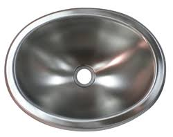 Rv Bathroom Sinks by Stainless Steel 10x13 Oval Lavatory Rv Sink Rv Parts Country