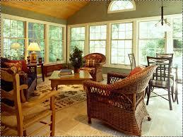 living room fine looking open sunroom wide glass windowed modern