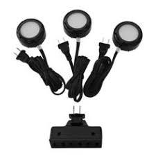 Utilitech Pro Led Under Cabinet Lighting Utilitech 5 Pack 2 6 In Plug In Under Cabinet Xenon Puck Light