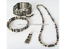 magnetic wrap bracelet images Black cloisonne beads magnetic wrap bracelet necklace all in one jpg