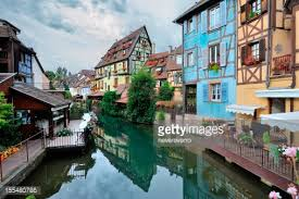 Colmar France Picturesque View Colmar France Stock Photo Getty Images