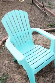 Paint For Outdoor Plastic Furniture by Spray Paint Plastic Chairs Laura U0027s Crafty Life