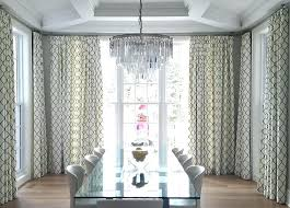 Curtains For Dining Room Ideas Dining Room Window Curtain Ideas Impressive Kitchen Bay Window