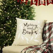 christmas u0026 holiday throw pillows you u0027ll love wayfair