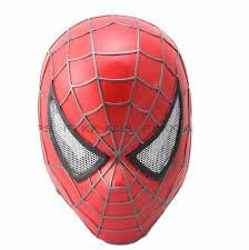 spiderman resin mask promotion shop promotional spiderman