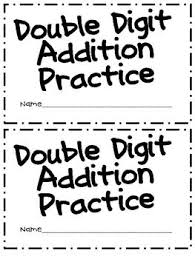 digit math 24 best 2 digit addition with regrouping images on