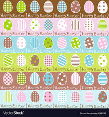 easter wrapping paper easter wrapping paper seamless pattern vector image