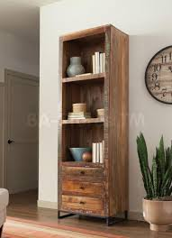 furniture tall distressed wooden bookcase and distressed bookcase