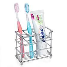 porte d ent de cuisine porte brosse à dents et de dentifrice en acier inoxydable