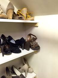 diy closet shelving wife in progress