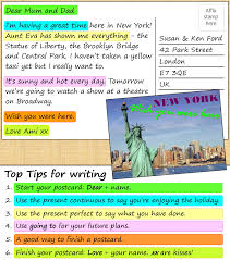 sample descriptive essay about a place a postcard from new york learnenglish teens british council show check your understanding grouping