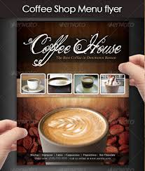 coffee shop menu flyer coffee pinterest restaurant menu