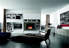 living room elevation modern design house decor picture