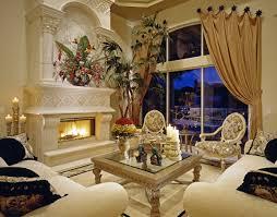 living room with fireplace and palm tree linda u0027s drapery u0026 interiors