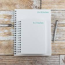 8 X 10 Photo Album Books Scrapbook Album Photo Memory Books Personalized Gifts First