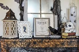 Vintage Halloween Decor Vintage Inspired Spooky Halloween Foyer Decor Inspiration