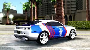 police camaro gta san andreas chevrolet camaro zl1 modify police indonesia v2