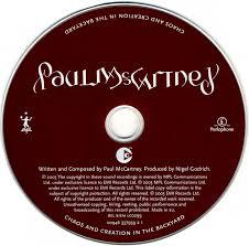 paul mccartney chaos and creation in the backyard 2005