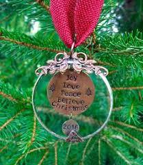 personalized ornament dear santa define