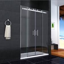 bathroom design black mosaic tile shower wall panel