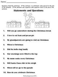 christmas statements or questions firstgradefaculty com