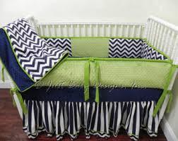 Navy And Green Nursery Decor Popular Items For Boy Baby Bedding On Etsy Kaden