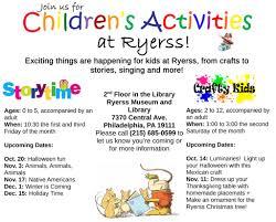 events ryerss museum u0026 library
