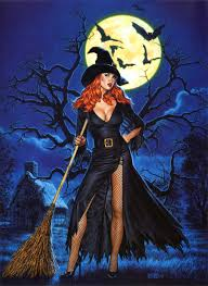 digital art by alastair fell witches happy halloween and