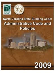 nc administration code 2009 building code framing construction