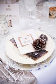 wedding plate settings 67 winter wedding table décor ideas weddingomania