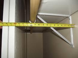 great closet hanger rod depth roselawnlutheran