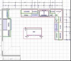 Kitchen Design Galley Layout Outstanding Kitchen Island Layout Dimensions Also Dancot Diions