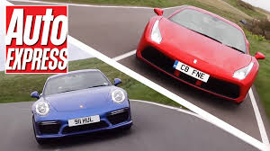 porsche 911 supercar ferrari 488 gtb vs porsche 911 turbo s turbo supercars fight it