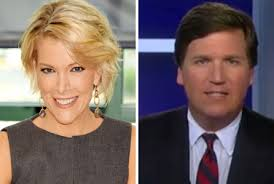 is tucker carlson s hair real tucker carlson s first two weeks in primetime outstrip megyn kelly