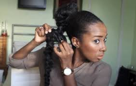 weave ponytail how to do a faux braid kinkycurlycoilyme