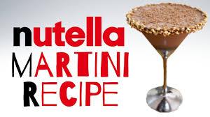 martini virgin nutella martini youtube